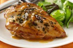مرغ ایتالیایی با سس زردآلو