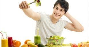تغذیه سالم برای مردان